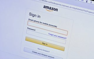 Amazon-sign-in-screen