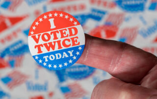 symbolizing-voting-twice
